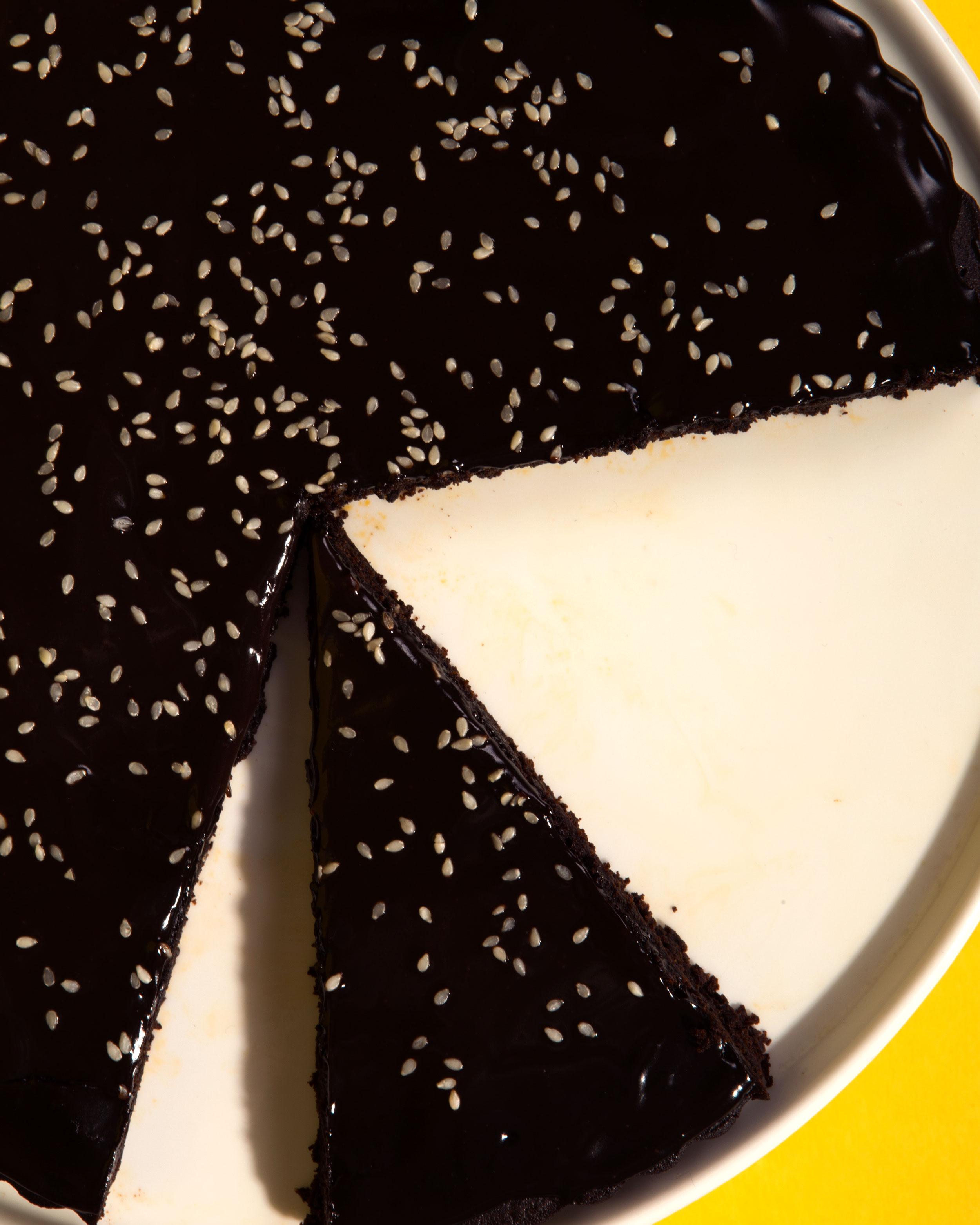 Mole Brownie Tart
